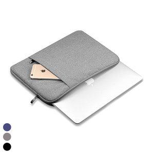 손잡이 극세사 노트북 태블릿 파우치 8 11 13 15 인치