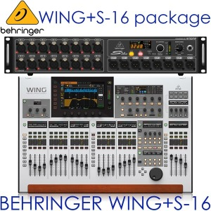 BEHRINGER WING + S16 Pack /WING S16/디지탈 믹서 팩
