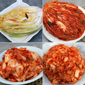 수입김치 10kg모음/중국산 업소(포기 맛 슬라이스 백)