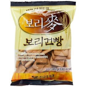 맥보리건빵 85g/보리건빵/군대건빵/과자/옛날과자