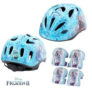 겨울왕국2 아동3세이상 헬멧 보호대세트 항균 통기성