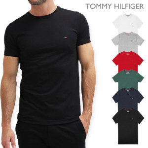 타미힐피거  2개이상구매시양말증정 반팔 티셔츠 남자 여자 면 반팔티 T3139