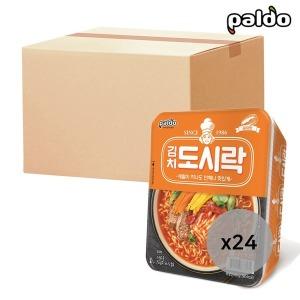 김치도시락 컵라면 86g 24개입 1박스