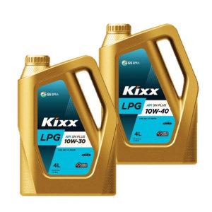 KIXX LPG 10W30 10W40 4L 킥스 LPG 엔진오일