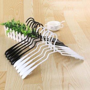 마녀의생활 논슬립 스틸실리콘코팅옷걸이 10P 여성용