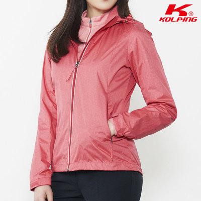 [콜핑] 콜핑 멜란지 방풍자켓 포베디(여) KPJ0250W