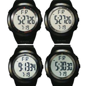 남성 디지털 전자 손목 시계 큰숫자 날짜 케쥬얼 정장