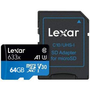 렉사 하이퍼포먼스 633x 마이크로SD카드 64GB 제공 특