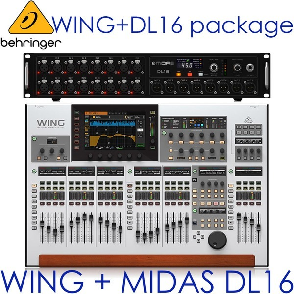 BEHRINGER WING + DL16 Pack/WING DL16/디지탈믹서 팩