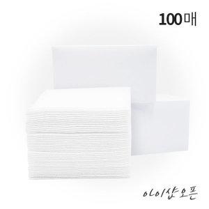 일회용해면(100매)/정전기필터/마스크필터-한국