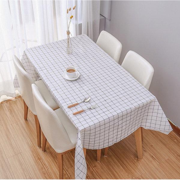 코코아이티 PVC 방수 체크 식탁보 테이블보 2인 4인