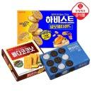 하비스트+빠다코코넛+롯데샌드 깜뜨