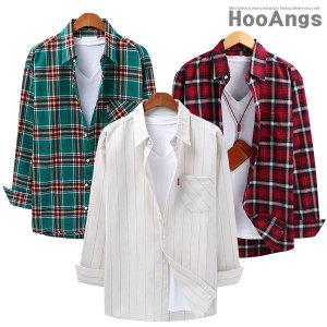 봄신상 셔츠/봄셔츠/체크남방/오버핏남자셔츠