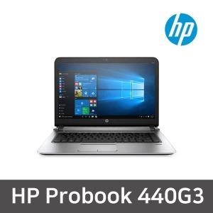 HP 440G3 I5-6200U.4G/128G/14형/윈10 중고노트북