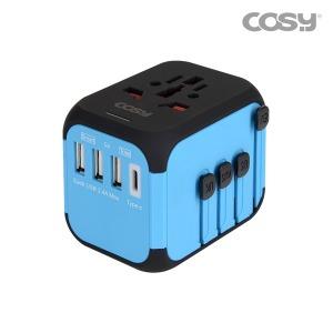 여행용 아답터 (타입C USB3포트) TA3465UC