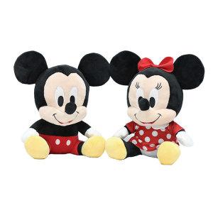 디즈니 미키 미니 마우스 쥐 실사 캐릭터 봉제 인형 2