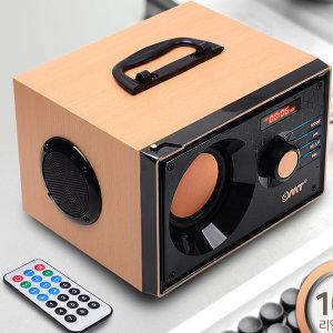 OMT 레트로 블루투스스피커 AUX MP3 라디오 OBS-RETRO