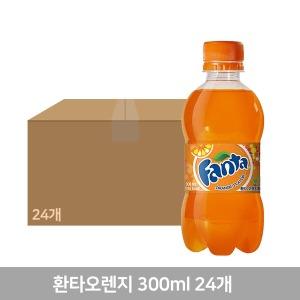 환타 오렌지 300PET X24  1박스 - 상품 이미지