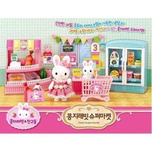 원앤원 콩지래빗 슈퍼마켓/콩지래빗인형/토끼인형