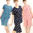 쿨 까실이 반팔상하세트(4101) 여성잠옷 여름홈웨어