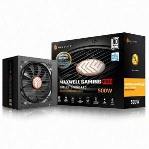 맥스엘리트 MAXWELL GAMING PRO 500W 80PLUS STANDARD