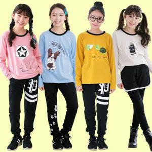 주니어여아 봄 BEST 상하복 초등학생 세트 의류 옷
