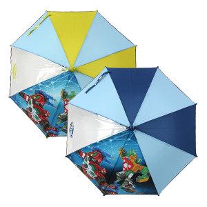 헬로 카봇 47 갤럭시 우산 유아 아동 어린이 자동우산
