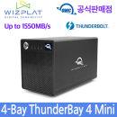OWC ThunderBay 4 mini 썬더볼드 외장 하드 SSD