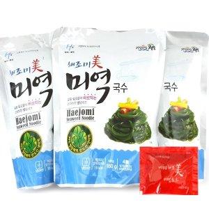 해조미 미역국수 180gx10봉+비빔소스10개