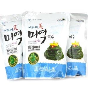 해조미 미역국수 180gx10봉(소스미포함)
