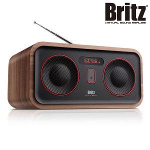블루투스 레트로 라디오 시계 우드 클래식 스피커 AC1
