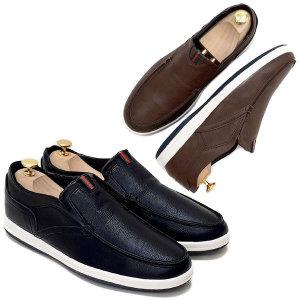 M-H커스텀 남성 슬립온 스니커즈 캐주얼화 남자신발