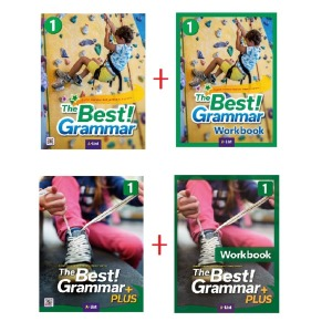 The Best Grammar 2종세트(Student Book+Workbook) / The Best Grammar PLUS SB+WB 세트(선택)
