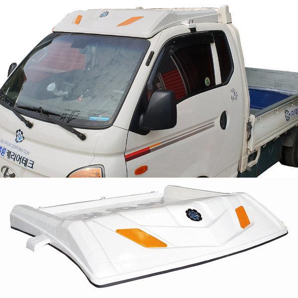 신형 오픈형캐리어 포터2 백색 갑바다이 화물차용품
