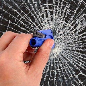 차량사고 비상탈출 안전 유리망치 키홀더 안전용품