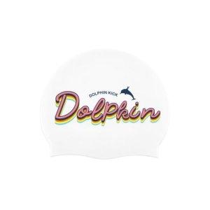 Dolphin Swimcap White