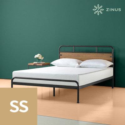 [지누스] 산타페 하이브리드 침대프레임(SS)