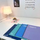 2000 캠퍼스메이트 절취없는 원링SP노트(A4)-색상랜덤