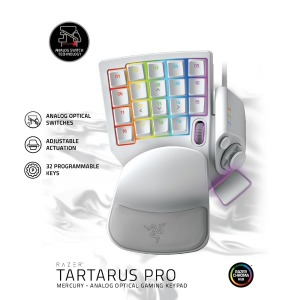 Tartarus Pro 타르타러스 프로 화이트 프로그램키패드