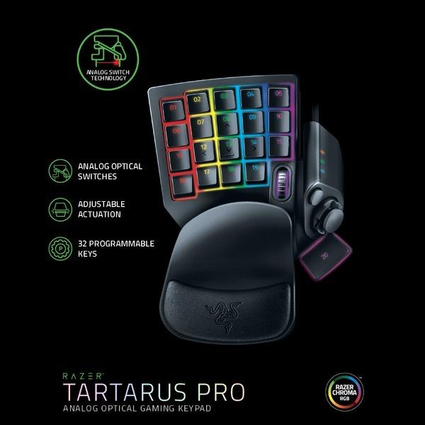 Tartarus Pro 타르타러스 프로 블랙 프로그래밍키패드