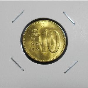 한국은행 1979년 10원 주화 준미사용