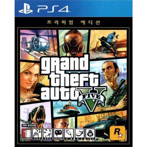 PS4 GTA V 프리미엄 에디션 (한국어판)