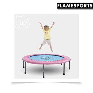 55인치 홈트레이닝 일체형 캐릭터 점핑 트램폴린