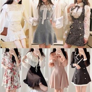 2019봄원피스신상 44~XL~레이스.롱원피스 드레스전문