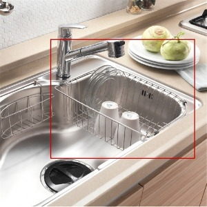 싱크대 스텐 식기 건조대 설거지 그릇 선반 주방정리