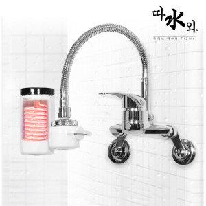 따수와 전기 순간온수기 온수기 본품+샤워기세트