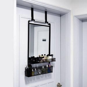 노바리빙 수납 거울 문걸이 화장대 롱후크