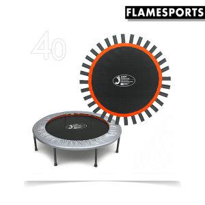 40인치 홈트레이닝 블랙 트램폴린 전용 매트