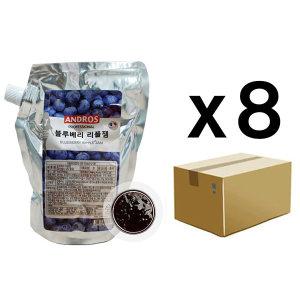 앤드로스 블루베리리플쨈 1kg 1BOX(8개입)
