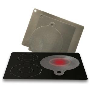인덕션보호매트 주방용품 조리 사각 원형 청결